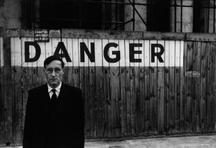Brion Gysin, William S. Burroughs, Danger, Paris 1959, The Barry Miles Archive
