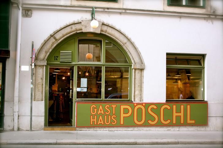 Eingang Gasthaus Pöschl (c) Nohl stadtbekannt.at