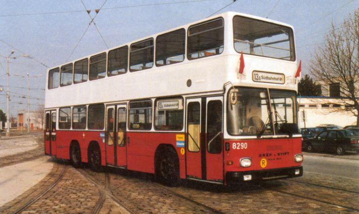 Doppeldeckerbus (c) Wiener Linien