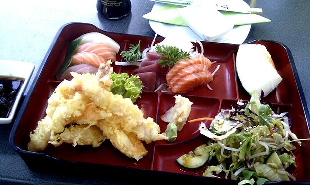 Hanil Sushi Tempura Bento (c) L. Suk