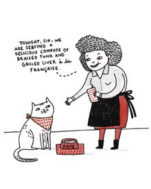 © a cat's life by gemma correll