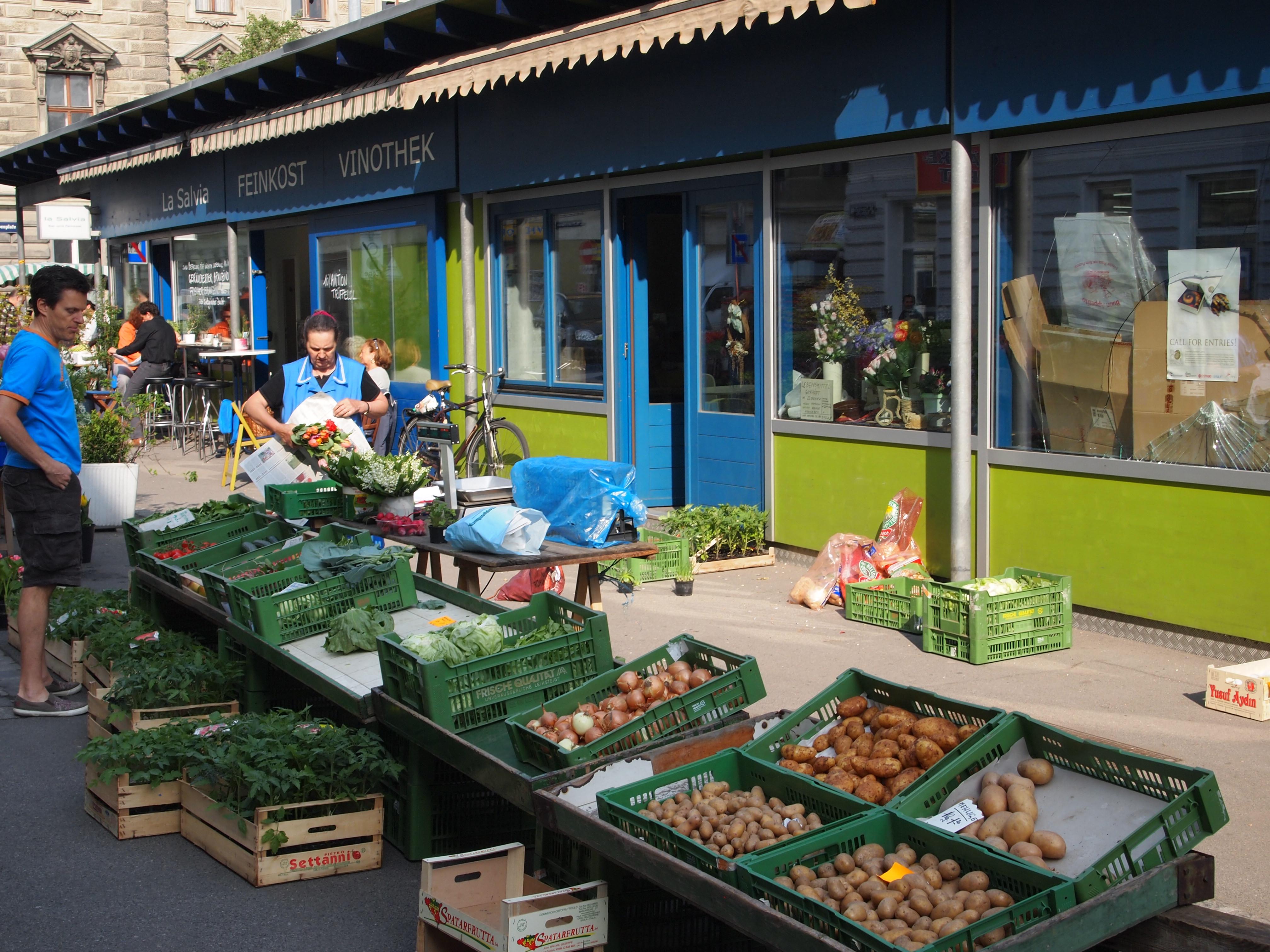 Yppenplatz Markt Gemüse (c) stadtbekannt.at