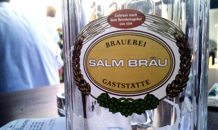 Bierglas Salm Bräu (c) Lukas Suk