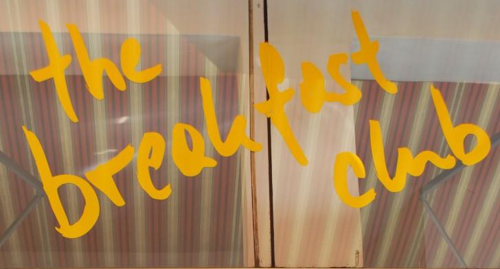 the breakfast club Namenszug (c) stadtbekannt.at