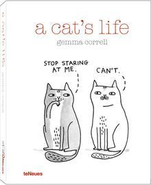 A cat's life Cover (c) Gemma Correll