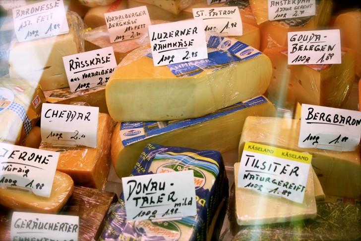 Rochusmarkt Käse (c) Nohl stadtbekannt.at