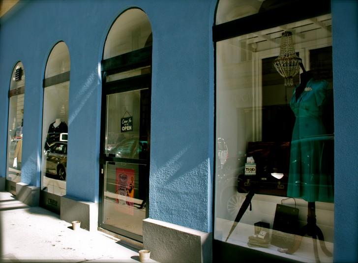 Frauenzimmer und Männersache Geschäft außen (c) Nohl stadtbekannt.at