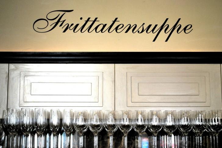 Cafe Drechsler Frittatensuppe (c) stadtbekannt.at