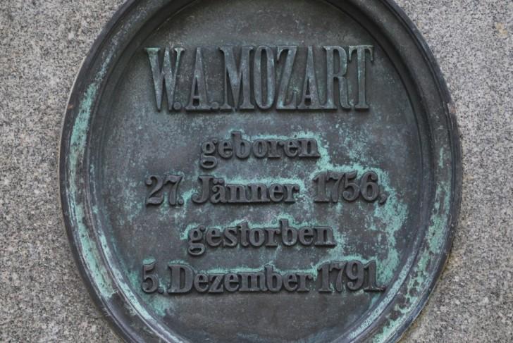 Mozart Ehrengrab (c) stadtbekannt.at
