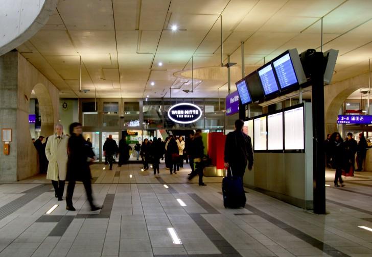 The Mall Wien Mitte (c) stadtbekannt.at