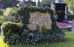 Hietzinger Friedhof Grab von Gustav Klimt [c) Schaub-Walzer