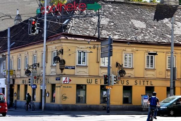 Gasthaus zum Goldenen Pelikan Foto: stadtbekannt.at
