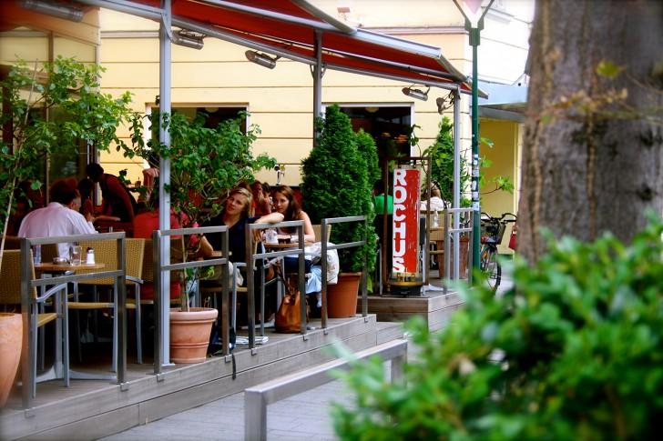 Gastgarten Cafe Rochus (c) Nohl stadtbekannt.at