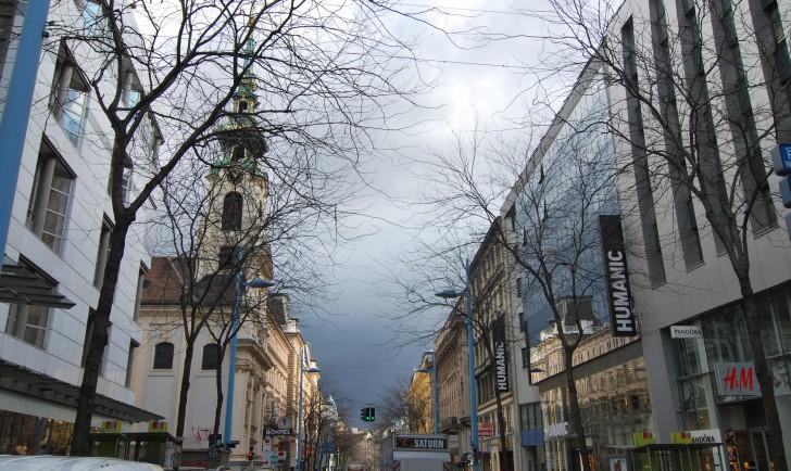 Stiftskirche Mariahilfer Straße (c) stadtbekannt.at