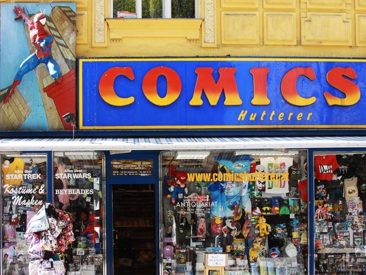 Comics Hutterer (c) stadtbekannt.at