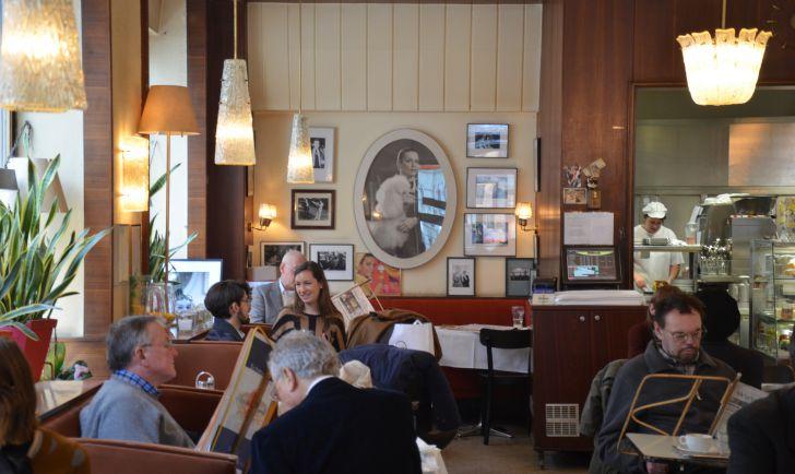 Cafe Korb Kaffeehausatmosphäre (c) Mautner stadtbekannt.at