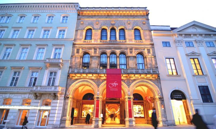 Freyung Palais Ferstel Fassade (c) stadtbekannt.at
