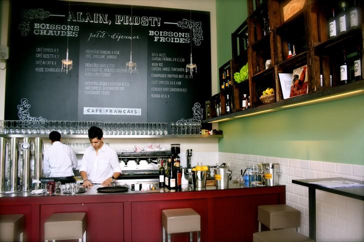 Cafe Francais Bar (c) Nohl stadtbekannt.at