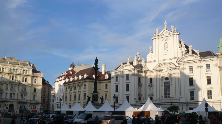 Am Hof Marktplatz (c) stadtbekannt.at