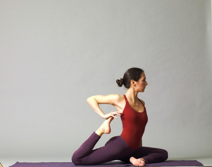 Yoga Übung (c) bYoga