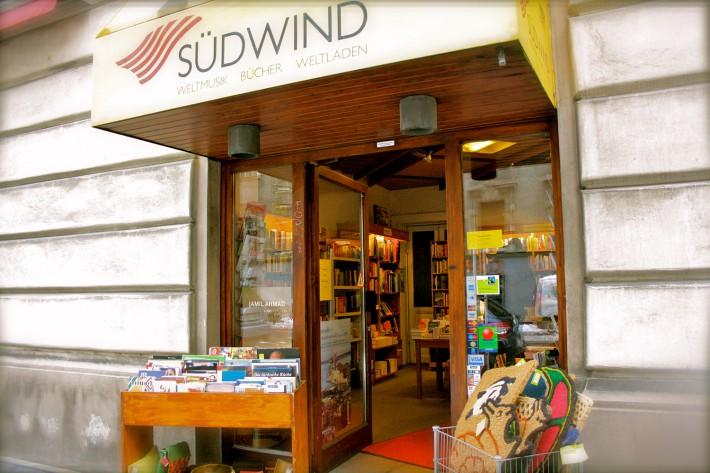 Eingang Südwind Weltladen (c) Nohl stadtbekannt.at