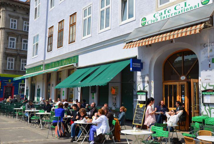 Cafe C.I. Gastgarten (c) Mautner stadtbekannt.at