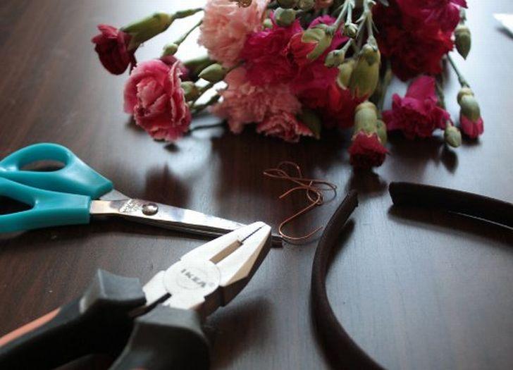 Blumenkranz Werkzeug