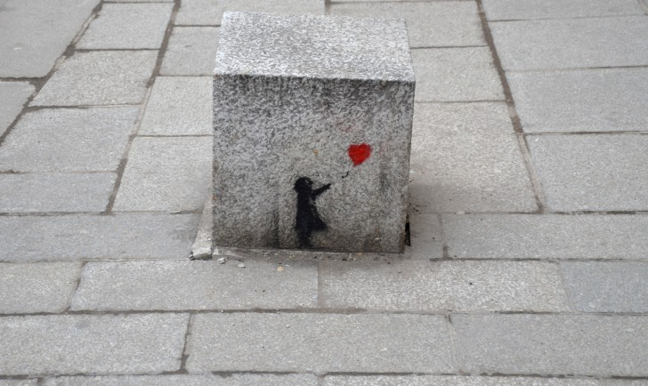 Graffiti Herz (c) stadtbekannt.at