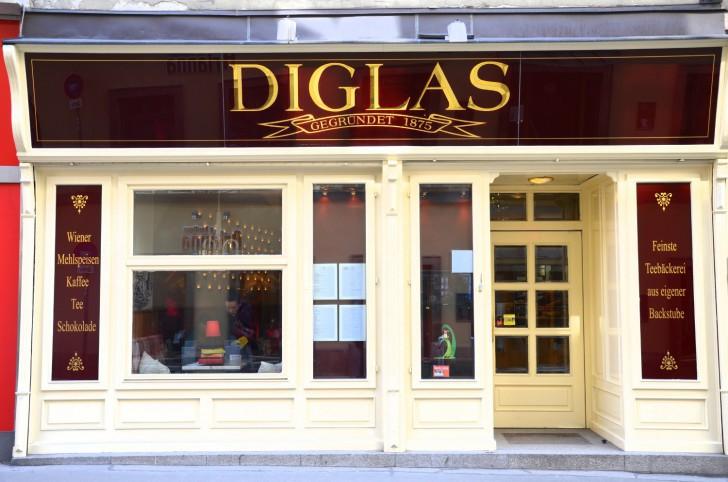 Cafe Diglas Fleischmarkt Foto: STADTBEKANNT