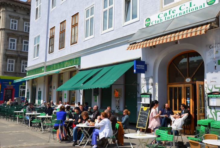 Cafe Club International Yppenplatz (c) STADTBEKANNT