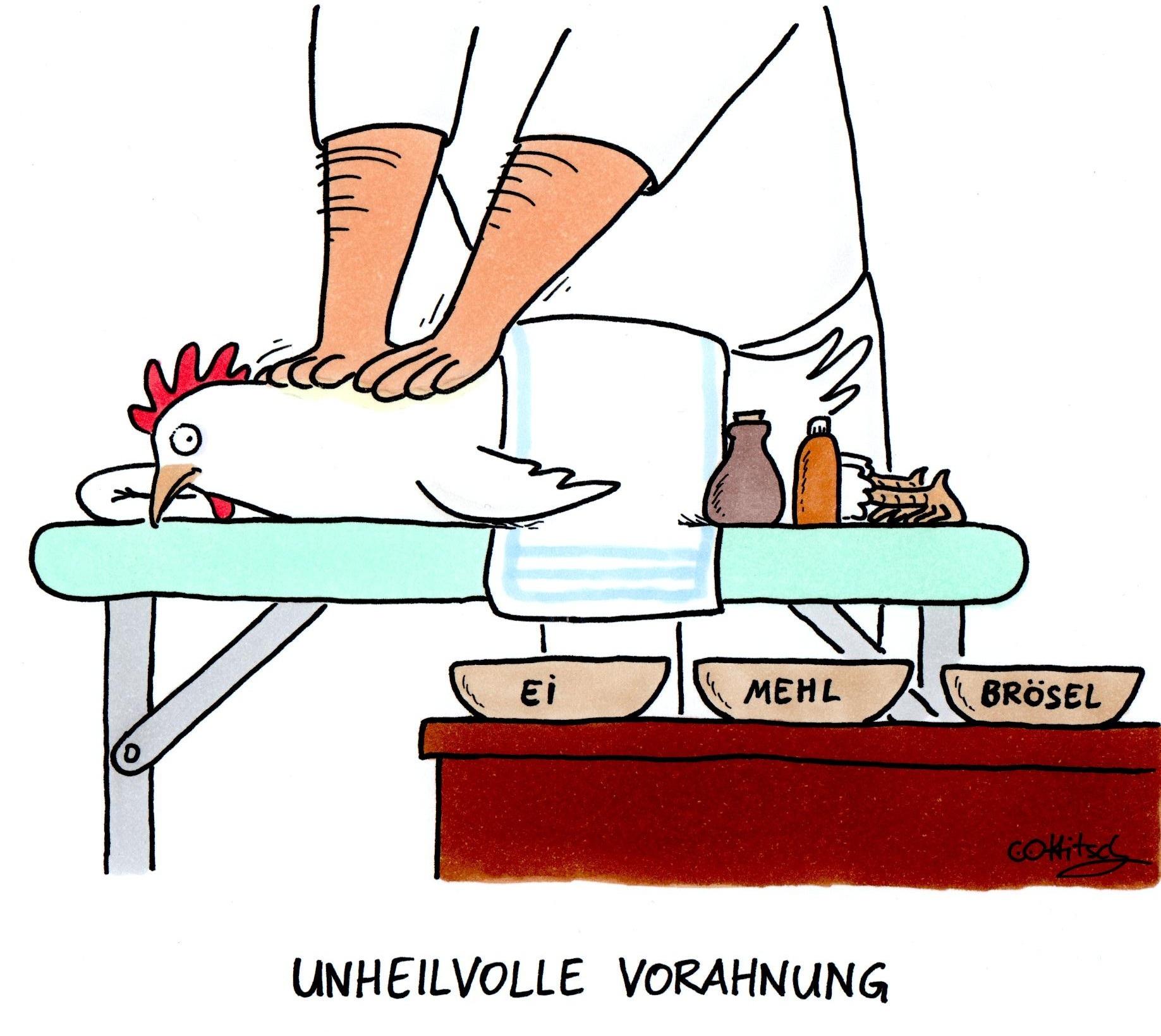 Unheilvolle Vorahnung (c) Oliver Ottitsch / Komische Künste