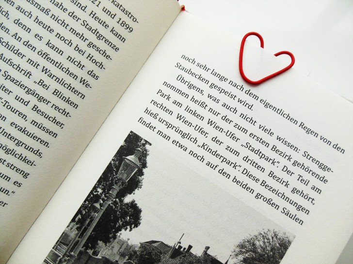 DIY Büroklammer Buch (c) stadtbekannt.at