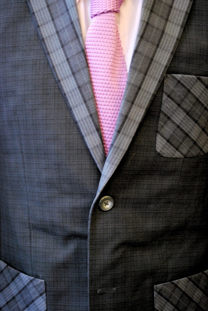Anzug grau (c)  stadtbekannt.at
