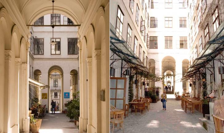Durchgang Lerchenfelder Straße Innenhof (c) stadtbekannt.at