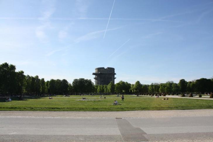 Augarten Flagturm (c) STADTBEKANNT