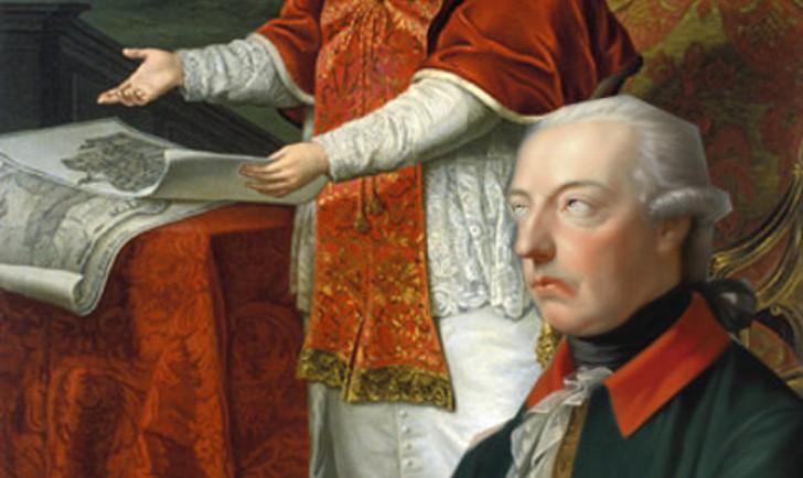 Pius VI und Joseph II