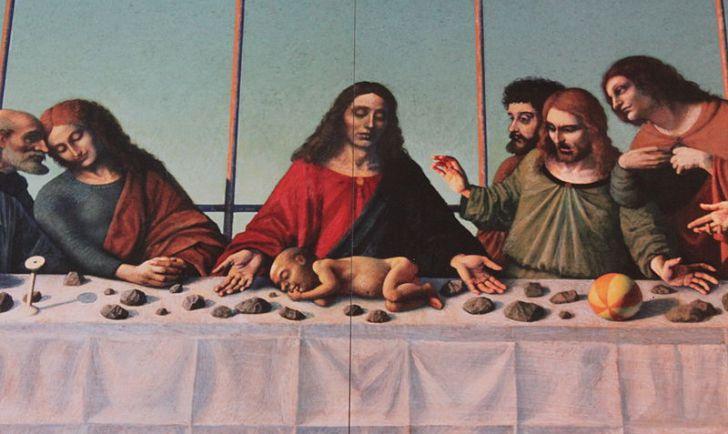 Hausner letztes Abendmahl Karmeliterkirche