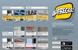 Aufreger Website