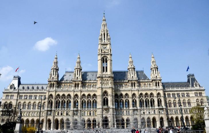 Universitätsring Wiener Rathaus (c) stadtbekannt.at