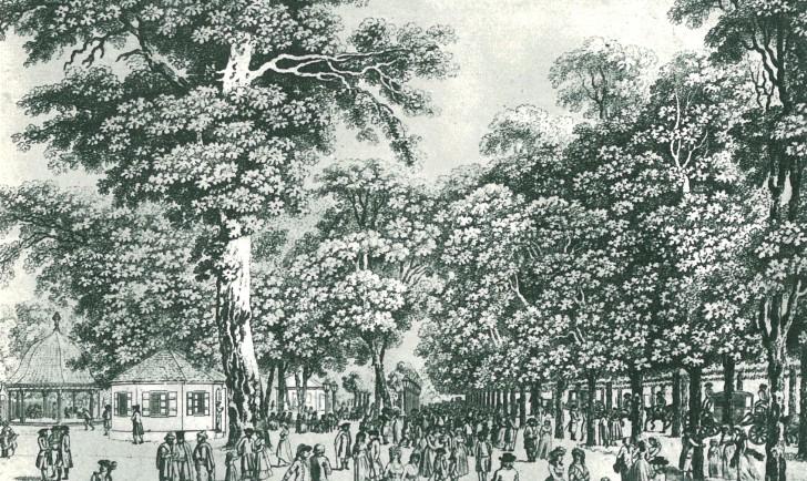 Wiener Prater um 1794