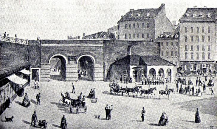 Wiener Stadtmauer Rotenturmtor