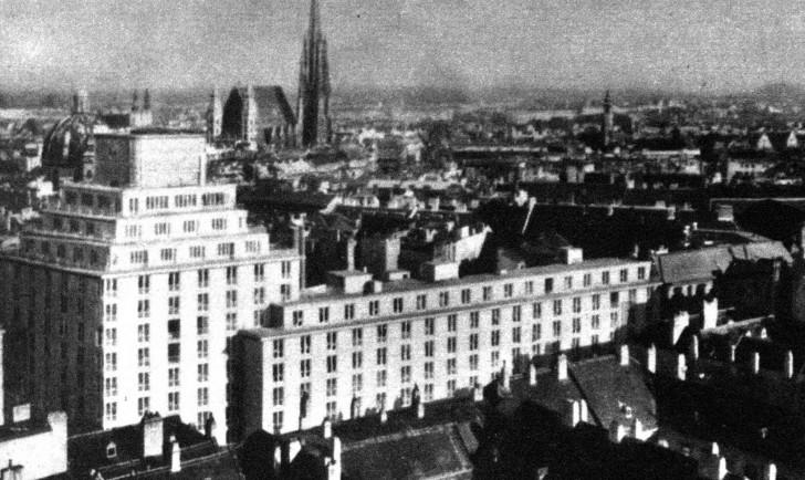 Hochhaus Herrengasse 1932