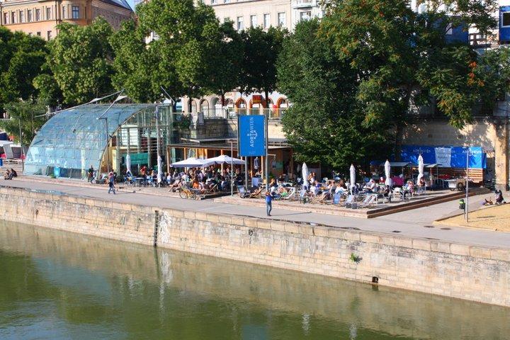 Leopoldstadt - der Bezirk am Strand
