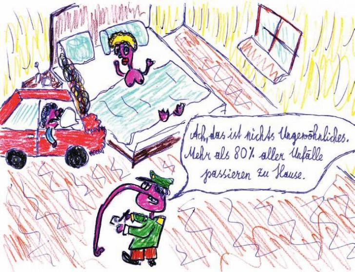Unfall zu Hause (c) Jürgen Marschal
