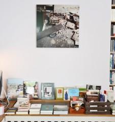 Buchkontor Tisch (c) Mautner stadtbekannt.at
