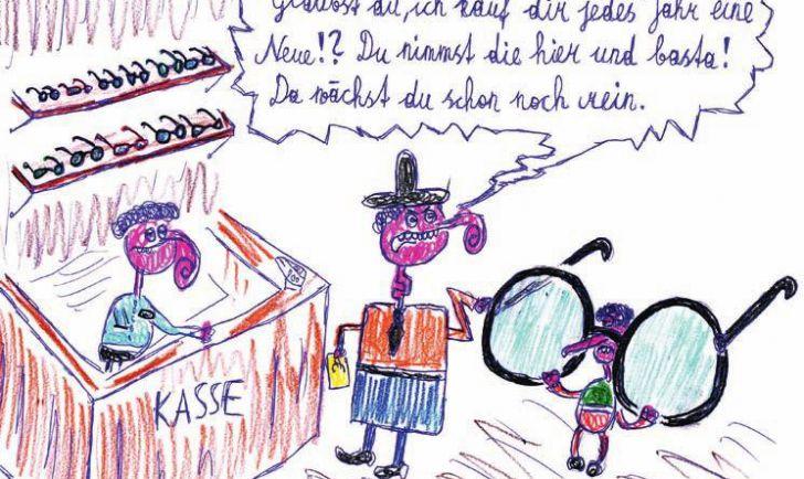 Brille zum Reinwachsen (c) Jürgen Marschal