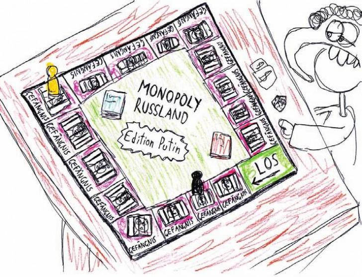 Haftanstalt Monopoly (c) Jürgen Marschal