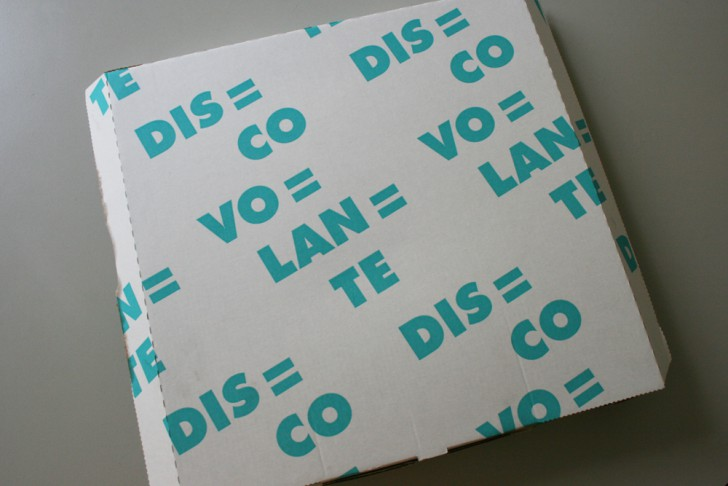 Disco Volante Pizzaschachtel (c) stadtbekannt.at