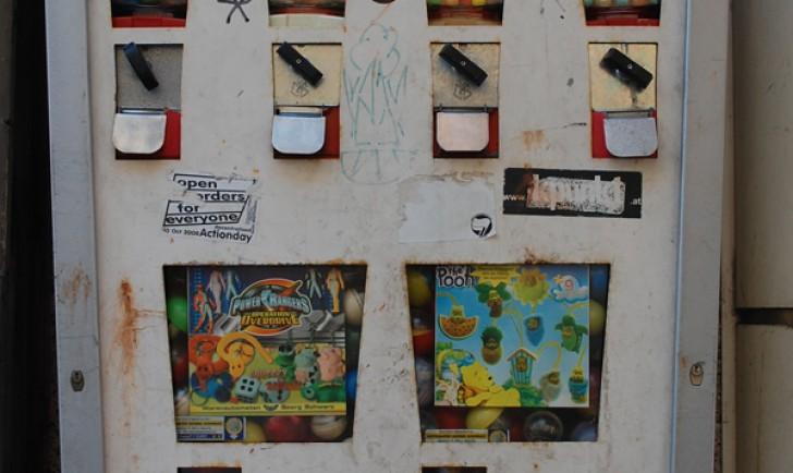 Kaugummiautomaten