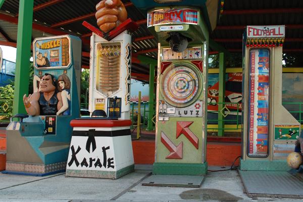 Automaten im Wiener Prater